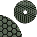 "Super Premium 4"" Dry Wet 50 Grit Flexible Polishing Pad"