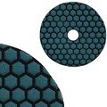 "Super Premium 5"" Dry Wet 50 Grit Flexible Polishing Pad"