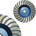 "Turbo 4-1/2"" Cup Wheel For Granite and Marble with 5/8 mm Arbor"