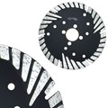 "Segmented 4"" Turbo Teeth Blade with Undercut Protection"