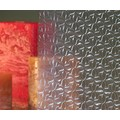 "Clear Ribbon Privacy Window Film 36"" Wide x 1yd. Sold by the yard as one continuous roll."