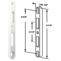 Technologylk Patio Door Keeper For 2 Point Mortise Lock