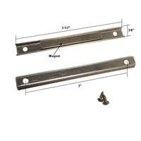 Shower Door Replacement Channel Magnet with Screws for Pivot ...