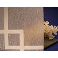 "Shoji Gossamer Squares Decorative Privacy Window Film 36"" Wide x 6.5 ft. Roll"