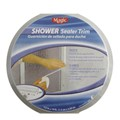 White Adhesive Shower Sealer Trim 1/2 in. x 10 ft. long