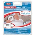 Tub and Wall Biscuit Sealer Trim Wide 1-5/8 in  x 11 ft  long