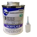 Weld-On 3 Acrylic Adhesive - Pint and Weld-On Applicator Bottle with Needle