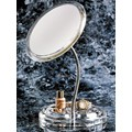 Zadro FG37 Acrylic Gooseneck Pedestal Makeup Mirror with 7X magnification